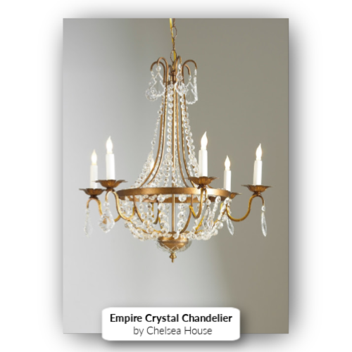Empire Crystal Chandelier by Chelsea House