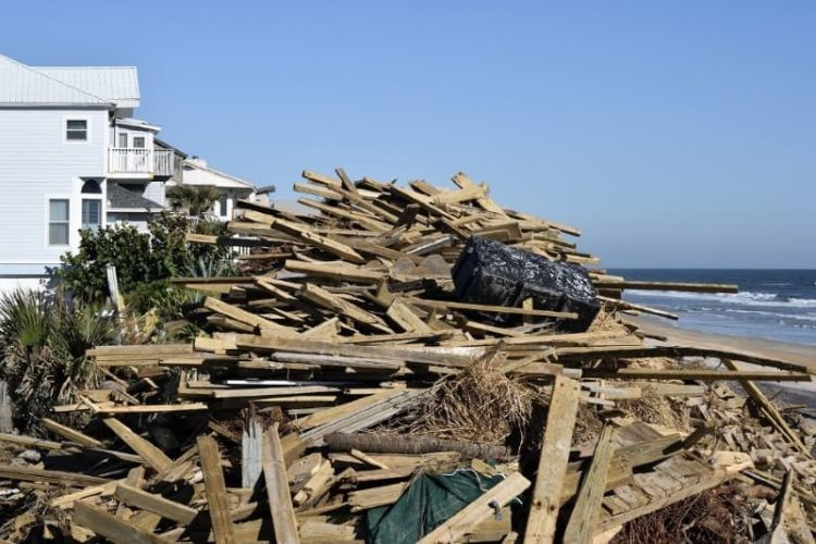 Impact windows protect Florida beach houses from flying debris